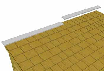 69. Position first Roof Ridge Board (1/2 x 4