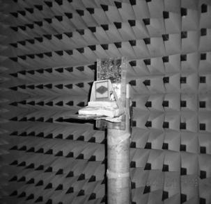 The fabricated antenna is tested in the anechoic chamber and the radiation patterns for the E-Field and H-Field are plotted.