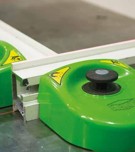 Easy to handle and adjust. Long lifetime. Saves costs and improves product quality.