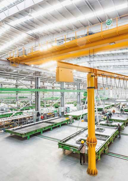 The line can be, and almost always is, custom-made to fit the particular needs of your specific factory.