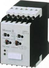 The second changeover conac is provided for direc saus indicaion. Unbalance relay EMR4-A reliable phase loss deecion The unbalance relay EMR4-A wih is 22.
