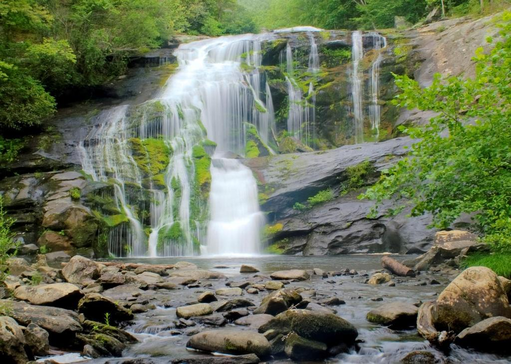 Bald River Falls Tellico Plains, TN Just off Cherhola Skyway >
