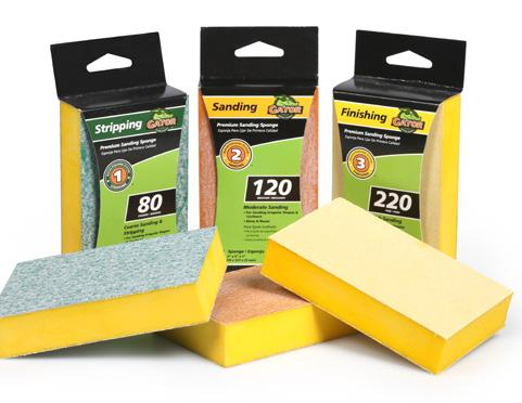 3 x 5 x 1 Premium Sanding Sponges These premium sponges combine the performance of our premium sandpaper with the convenience of a sanding sponge.