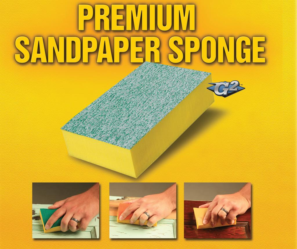 For use on wood, metal, fiberglass, and painted surfaces. Also fits our Sponge Holder. Item No. Description Grit 7361-012 7300 Coarse Sanding & Stripping Coarse Sanding & Stripping Step 1-2-3 Pk. Qty.