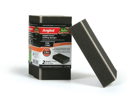 Drywall Sanding Sponge and Holder Designed for comfort and ease of use, the drywall sanding sponge and holder helps smooth walls quickly and easily.