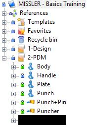 Note: Checking a deleted document into the vault moves this document into the recycle bin. The recycle bin works the same way as the Windows recycle bin.