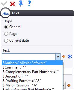 In the title block, insert the Creation Date parameter which corresponds