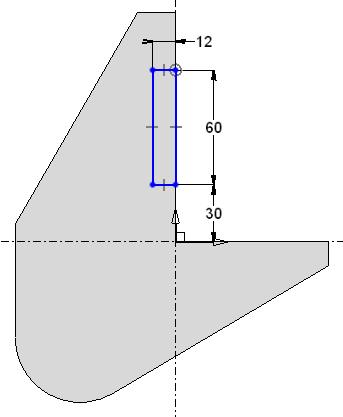 TopSolid Design Basics Exercise 3: The bracket Creating a new sketch in the part document Click on the Bracket part document's upper tab to