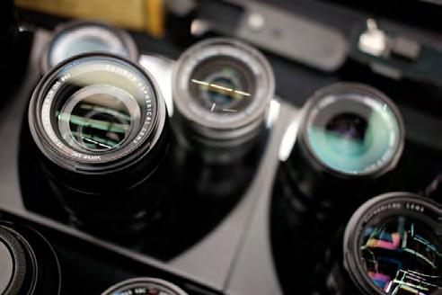 A Guide to Using Lenses Lenses are your camera s eyes to the world and they determine the overall look of your imagery more than any other piece of equipment in your camera bag.