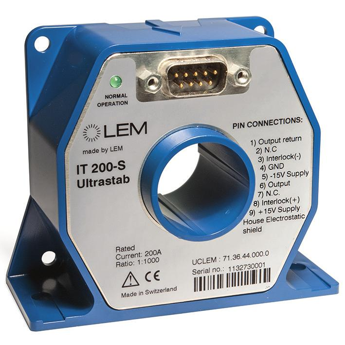 Optically insulated output (photocoupler type) indicates transducer state LED indicator confirms normal operation.