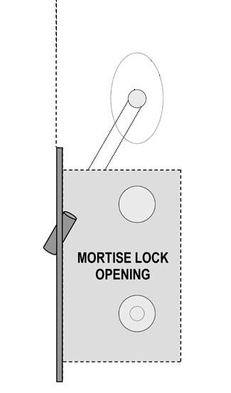 door. HOW this Motor Wire is routed depends on whether the door is solid or hollow: Hollow Metal Doors: Simply route the Mortise Lock Motor Wire within the hollow metal door. Skip to step 12.