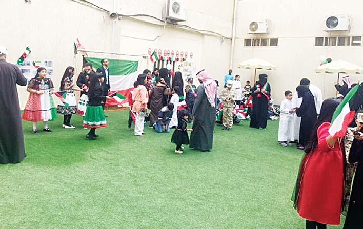 FAIPS-DPS celebrates Hala February with pride and gusto A photo from the event FAIPS-DPS celebrated Hala February-Kuwait National & Liberation Day on Feb 20, 2018 with a lot of exuberance and