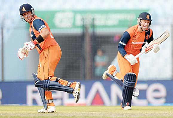 Obviously the guarantees must be there, the safety must be there, he Men in orange on red alert Dutch set sights on cricket WCup In this fi le photo taken on March 31, 2014, Netherlands batsmen