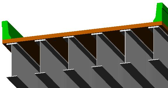 girders Girders can have linear, parabolic or circular haunches Flanges can vary in width and depth