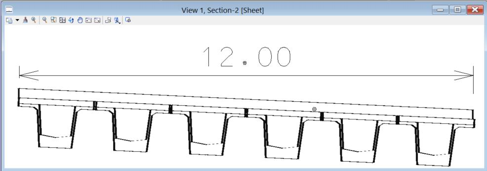 of section, plan and elevation views 21
