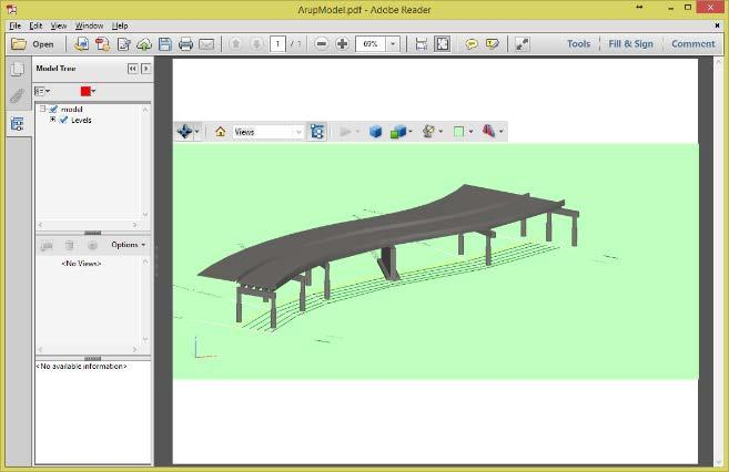 3D PDF Create 3D PDF directly from PBM 3D PDF s invaluable for sharing information with users without