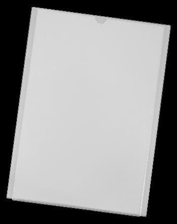 2mm acrylic ACRYLIC POCKET These transparent Pocket folders are made of 2mm acrylic thickness.