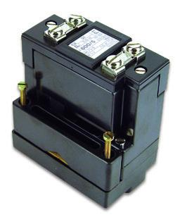 Split core current transformer Split core / current transformer Main features Typically for retro-fitting on bus bars For bus bars: 2 x 60 x 10 mm 60 x 35 mm For cables: Max.
