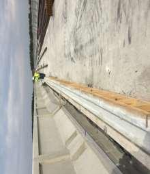 Monroe Precast Cable Trough Installed: 18,400 of 85,730 linear