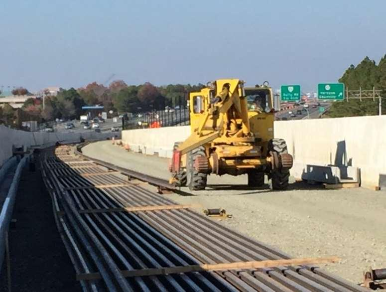 Track: Ballasted Dumping Initial Ballast West of