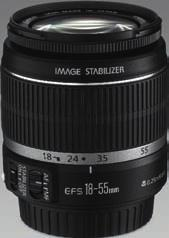 Which lens do you need? ABOVE One of the first lenses to buy, after your standard 18-55mm kit zoom, is a telezoom offering a range of focal lengths around the 55-250mm mark, or a macro lens.