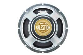 ORIGINALS As the original name in guitar loudspeakers, nobody knows more about manufacturing guitar drivers than Celestion.