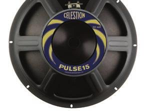 Manufactured with rigid steel frames designed for maximum energy transfer and highly responsive Kevlar-loaded cones, PULSE bass guitar drivers also incorporate longer voice coils for increased throw