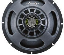 BASS SPEAKERS Expect a potent combination of technology and tone from Celestion bass speakers, built to deliver the exceptional performance demanded by modern amplifiers, while meeting the sonic