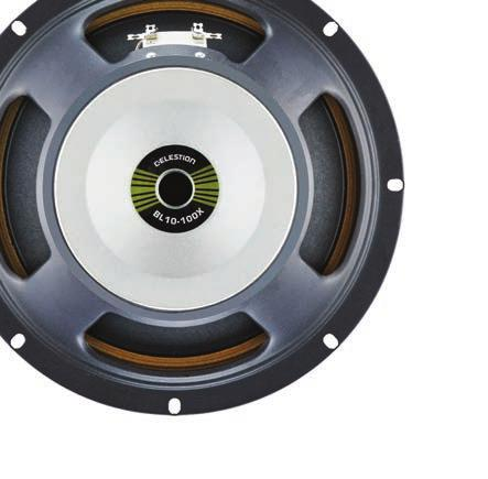 Whether you pump out deep, pulsating dance grooves, percussive slap or hard-driven rock styles, trust Celestion bass speakers to put your sound front and centre, whether holding down the rhythm, or