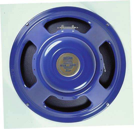 In response, Celestion designed the G12 T5 the now famous Blue.