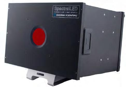 SpectralLED RS-7-1-SWIR Benchtop Uniform LightSource For the ultimate in resolution and accuracy, the SpectralLED Tunable SWIR source incorporates 9 shortwave infrared wavelengths for