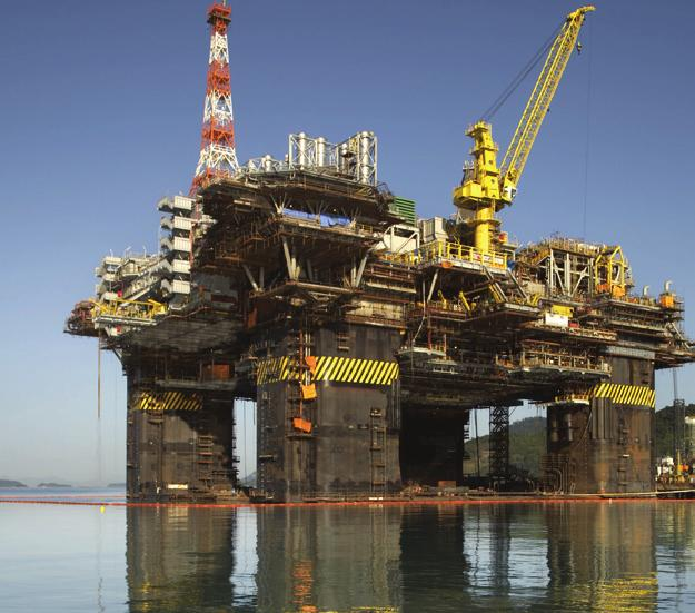 Taking It Further Offshore In the Offshore business segment Technip performs engineering, procurement, construction,