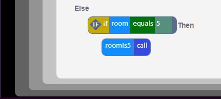 If the new adventure has six rooms and the functions have the same names as in the example, then this code does not need to be changed.