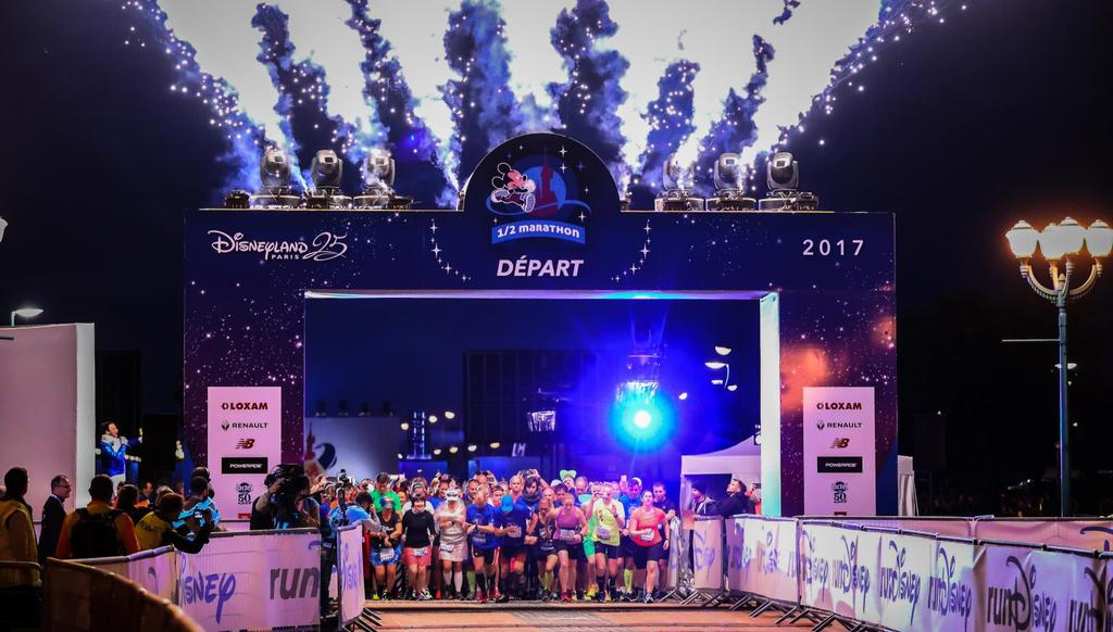 Disneyland Paris Magic Run Weekend 2018 Edition Event Program: Thu. 20 Sep. -> Sun. 23 Sep. rundisney Health & Wellness Expo Fri. 21 Sep. 2018 08:00pm: Disneyland Paris 5K Sat. 22 Sep.
