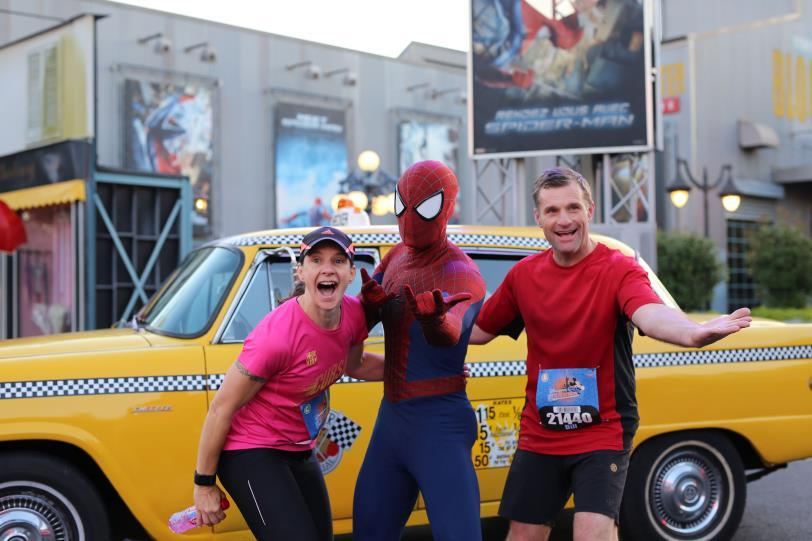 Hotel + 5K Race Share the adventure with a magical nighttime run through Walt Disney Studios Everyone's invited to join the excitement during the Disneyland Paris 5K (3,1miles!
