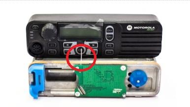Install Option Board ST001.M1 on the Radio rack. Fix 4 screws with screwdriver T6 TORX until the torque 0,17 H according to Figure 9; Figure 9. TRBOnet Swift Transfer ST001.