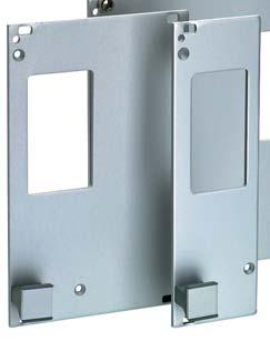 "Wa AC-DC PFC Converers Accessories A variey of elecrical and mechanical accessories are available including: Fron panels for 9"" DIN-rack: Schroff or Inermas, 2"