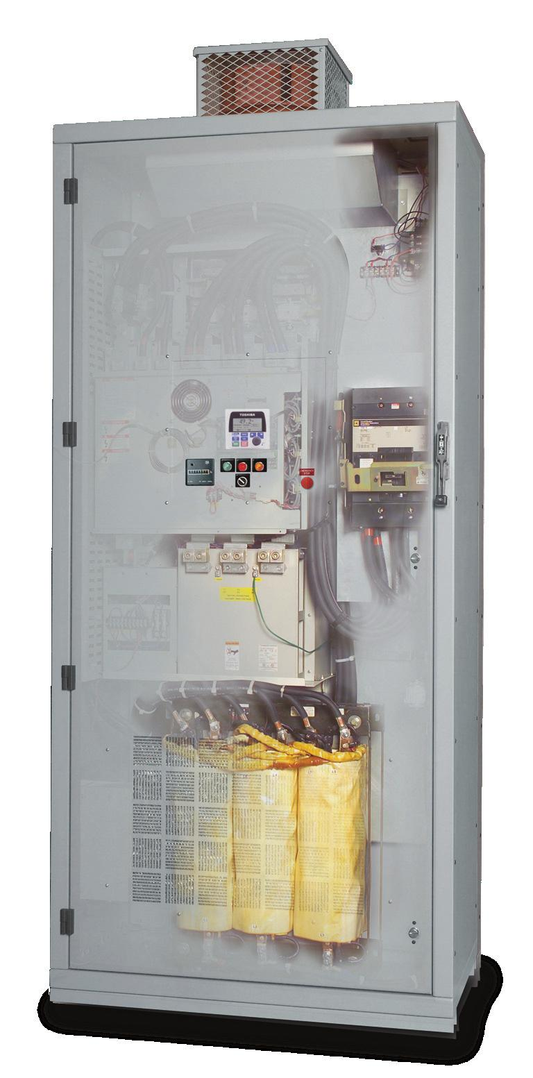 Toshiba HX7 In some industrial applications, users need reliable and efficient adjustable speed drives that do not contribute significant harmonic distortion to the power grid.