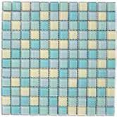19 x 12.19 sheets mesh-backed mounted Grout Joint: 1/8 (0.32 cm) Sizes: 1 x 1 / 2.54 x 2.54 cm (± nominal), 0.315 (0.