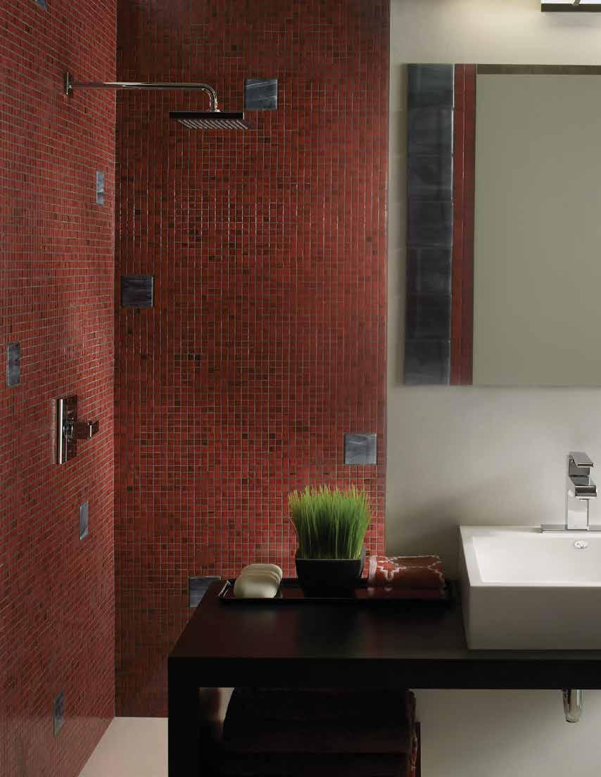 Mosaic Series These extraordinary tiles have a distinctive brilliance.