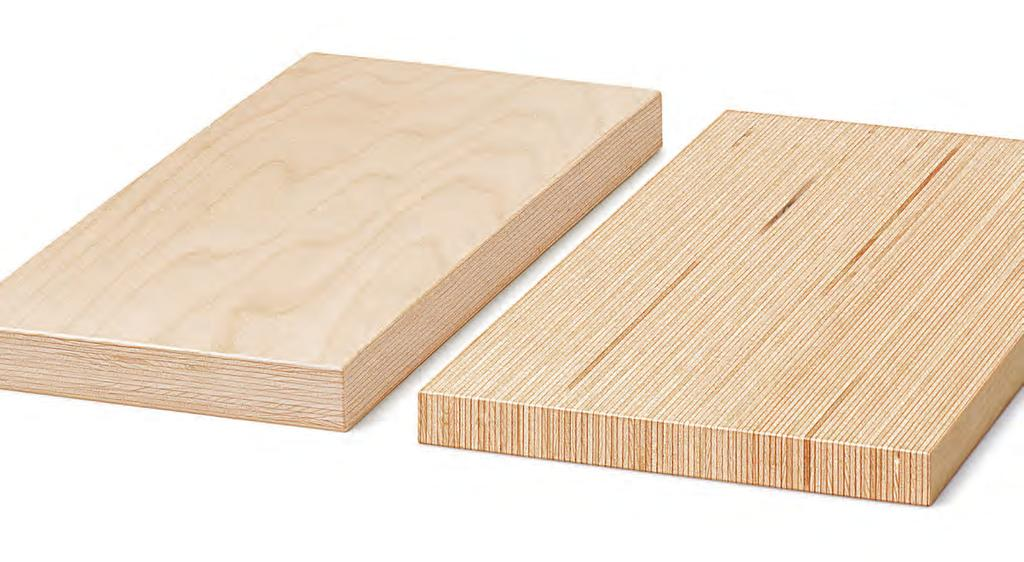11.6 Dimensions and properties of Board BauBuche Q and BauBuche Panel BauBuche for stairs 11 01-17 - EN Sheet 7 / 7 Board BauBuche Q* BauBuche Panel Dimensions Thicknesses 20, 31, 40 mm (sanded)