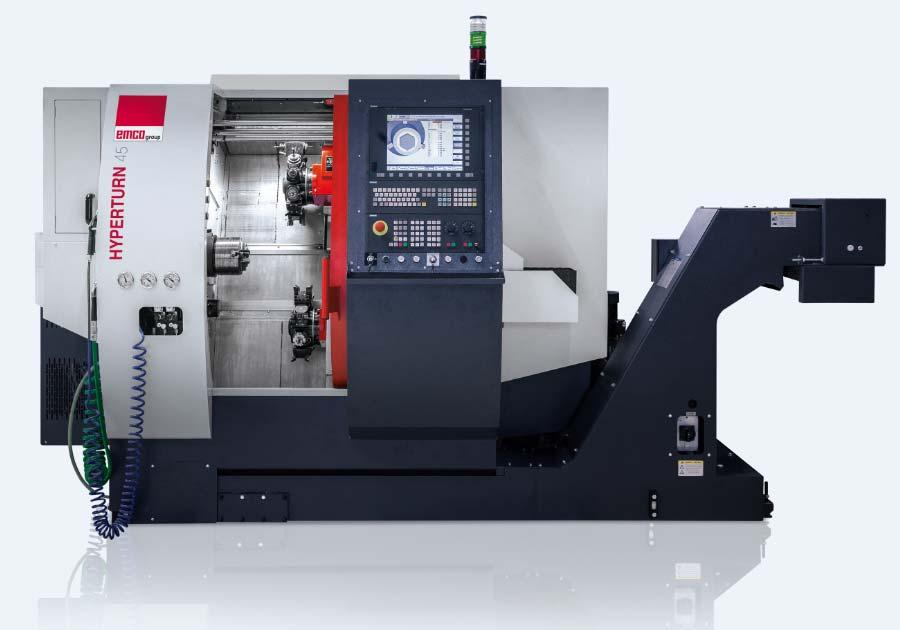 TECHNICAL SPECIFICATION HYPERTURN 45 MODULAR CNC-TURNING