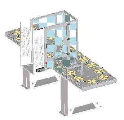 ! GANTRY-LOADER (Only for machines w/ Siemens) S3A M02 GANTRY LOADER HYPERTURN 45 Universal loading system for HT45. NC-controlled via the machine control Sinumerik 840D solutionline.
