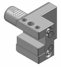 D. Turning holder right (R2Z350W) 3x I.D. Turning holder universal (R2Z310W) 5x Collet holder ER25 (R6Z360W) 2x Reduction bushing (ø20mm) (442560W) 2x Reduction bushing (ø16mm) (442550W) 2x