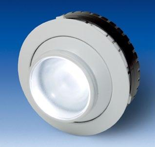 Stand alone LED Reading Lights Economical Generation 2LA455953-XX, 2LA455961-XX, 2LA455980-XX These stand alone Reading Lights can be mounted in a panel or any other surface of up to 1,7 mm thickness.