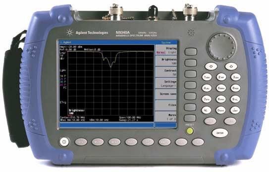 Making a S11 and S21 Measurement Using the Agilent N9340A Application Note Introduction Spectrum characteristics are important in wireless communication system maintenance.