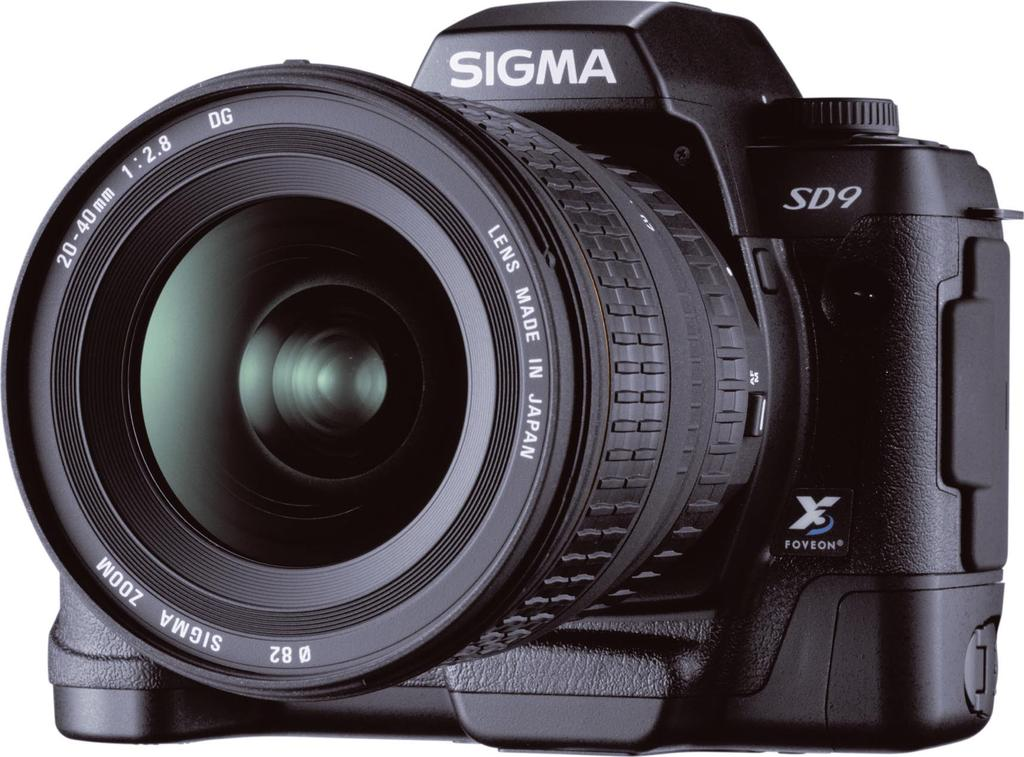 SLR camera is a good proving ground for sensor technology