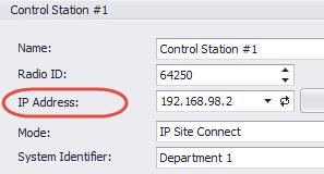 To avoid conflicts in case there are several stations connected with USB, you can change the third octet of the address.