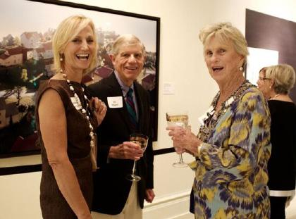 March 16, 2017 The event featured the Art in Bloom exhibition by floral designers, lunch catered by Elizabeth D. Kennedy and Co, Inc.