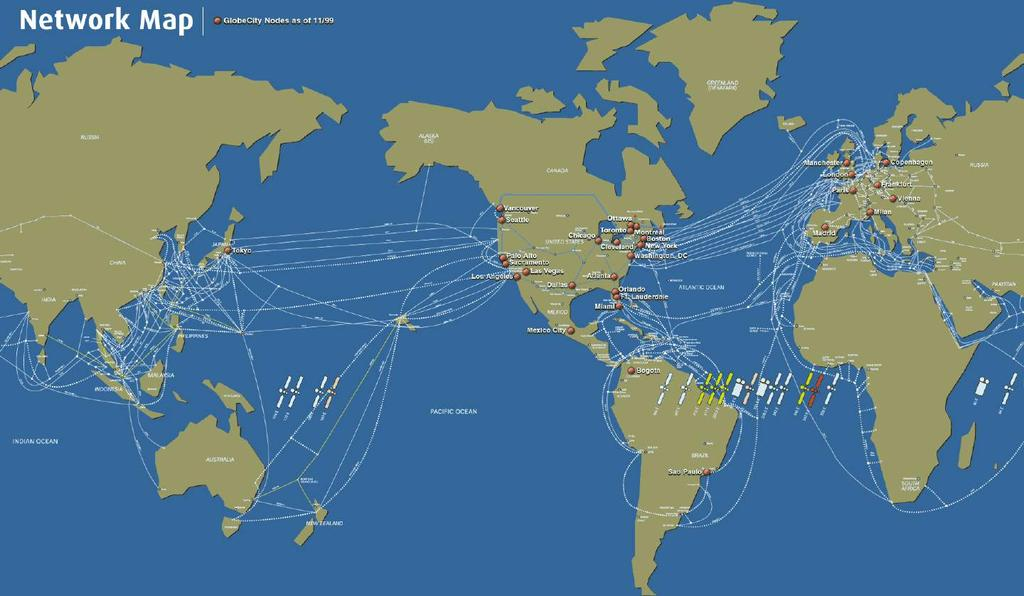 Undersea Cable and Satellite Networks http://personalpages.